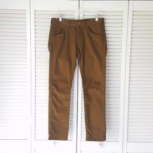 BONOBOS Mustard Slim Tailored Jeans 30